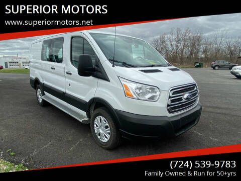 2019 Ford Transit Cargo for sale at SUPERIOR MOTORS in Latrobe PA