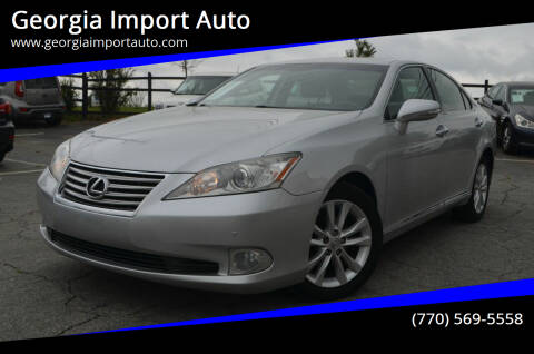 2010 Lexus ES 350 for sale at Georgia Import Auto in Alpharetta GA