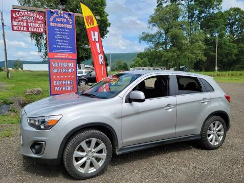 2014 Mitsubishi Outlander Sport for sale at Wahl to Wahl Auto Parts in Cooperstown NY