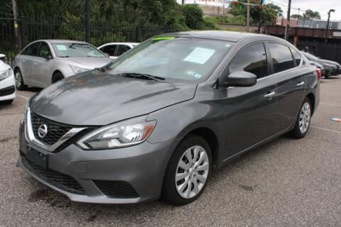 2016 Nissan Sentra for sale at EZ PASS AUTO SALES LLC in Philadelphia PA