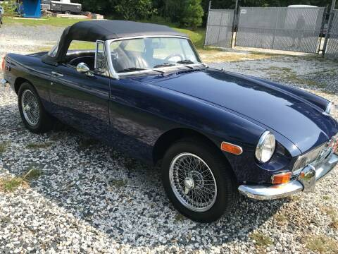 1980 MG B for sale at The Shop at Easton in Easton MD