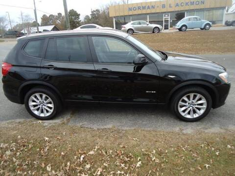 2017 BMW X3 for sale at Norman-Blackmon Motor Company Inc in Greenville AL