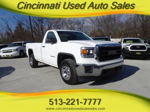 2014 GMC Sierra 1500 for sale at Cincinnati Used Auto Sales in Cincinnati OH
