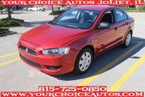 2009 Mitsubishi Lancer for sale at Your Choice Autos - Joliet in Joliet IL