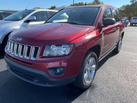 2016 Jeep Compass for sale at Blake Hollenbeck Auto Sales in Greenville MI