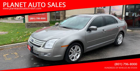 2008 Ford Fusion for sale at PLANET AUTO SALES in Lindon UT