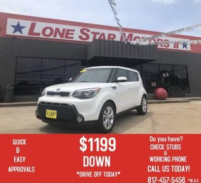 2016 Kia Soul for sale at LONE STAR MOTORS II in Fort Worth TX