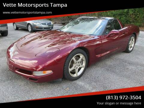 2003 Chevrolet Corvette for sale at Auto Liquidators of Tampa in Tampa FL