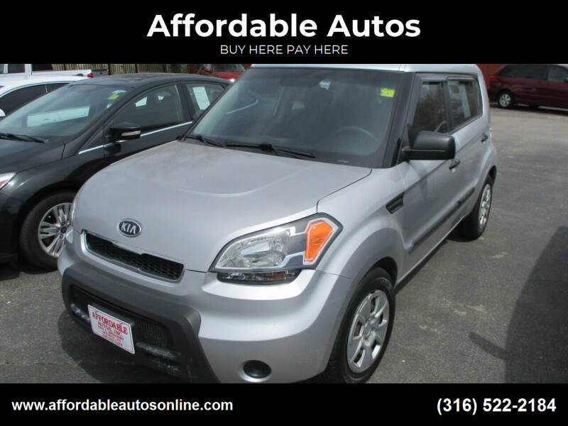 2011 Kia Soul for sale at Affordable Autos in Wichita KS