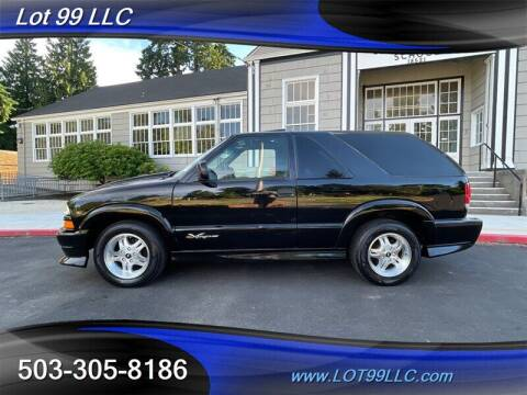 2001 Chevrolet Blazer for sale at LOT 99 LLC in Milwaukie OR