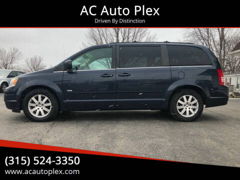 2008 Chrysler Town and Country for sale at AC Auto Plex in Ontario NY