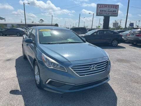 2017 Hyundai Sonata for sale at Jamrock Auto Sales of Panama City in Panama City FL