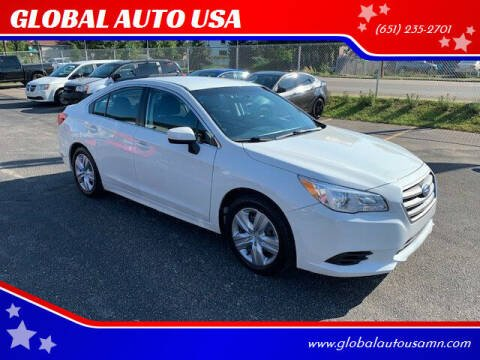 2016 Subaru Legacy for sale at GLOBAL AUTO USA in Saint Paul MN