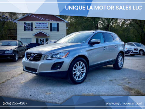 2010 Volvo XC60 for sale at Unique LA Motor Sales LLC in Byrnes Mill MO