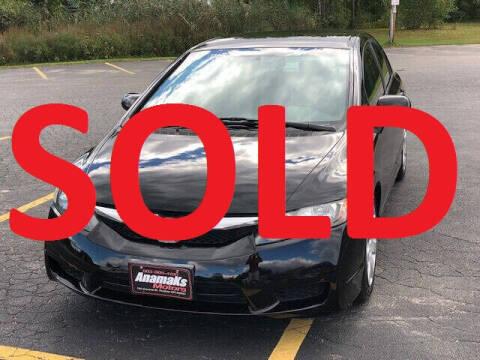 2010 Honda Civic for sale at Anamaks Motors LLC in Hudson NH