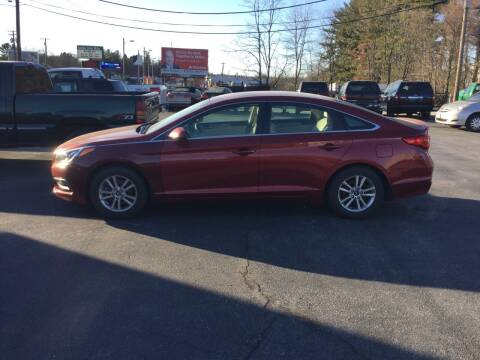 2016 Hyundai Sonata for sale at Hometown Auto Repair and Sales in Finksburg MD