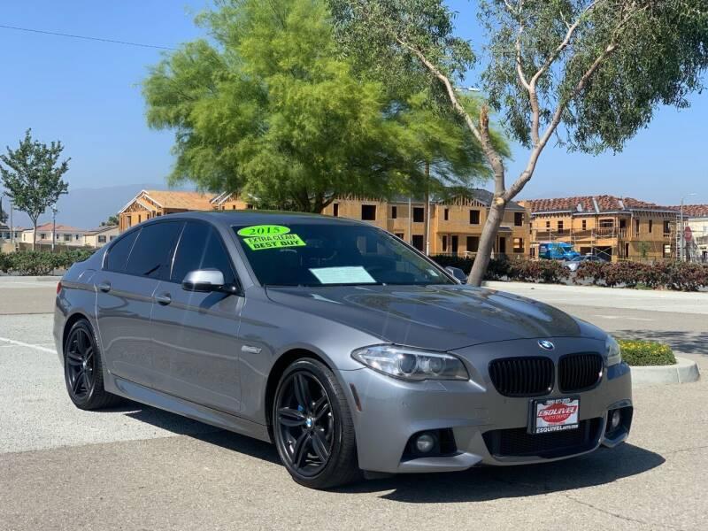 2015 BMW 5 Series for sale at Esquivel Auto Depot in Rialto CA