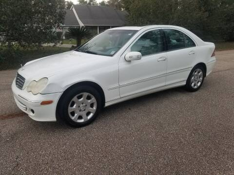 2006 Mercedes-Benz C-Class for sale at J & J Auto Brokers in Slidell LA