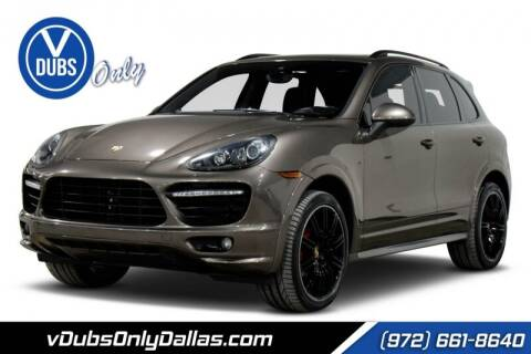2014 Porsche Cayenne for sale at VDUBS ONLY in Dallas TX