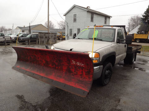 2005 GMC Sierra 3500 for sale at Arko Auto Sales in Eastlake OH
