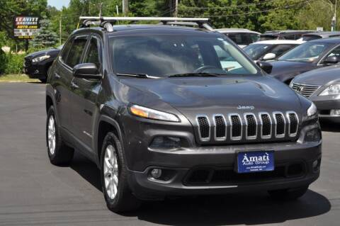 2015 Jeep Cherokee for sale at Amati Auto Group in Hooksett NH