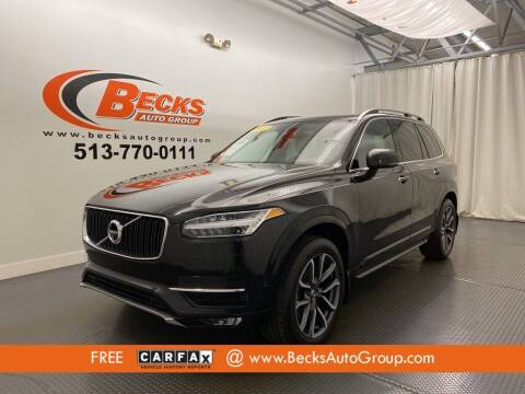 2017 Volvo XC90 for sale at Becks Auto Group in Mason OH