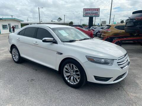 2015 Ford Taurus for sale at Jamrock Auto Sales of Panama City in Panama City FL