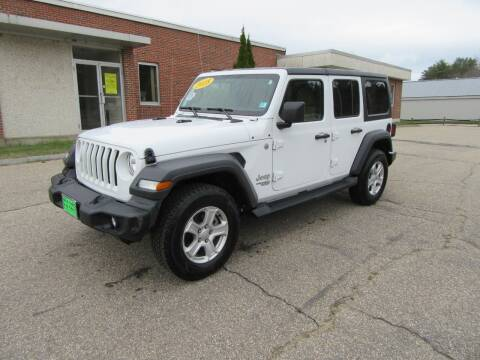 2018 Jeep Wrangler Unlimited for sale at Kar Kraft in Gilford NH