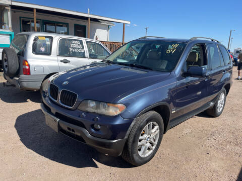 2004 BMW X5 for sale at PYRAMID MOTORS - Fountain Lot in Fountain CO