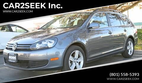 2013 Volkswagen Jetta for sale at CAR2SEEK Inc. in Salt Lake City UT