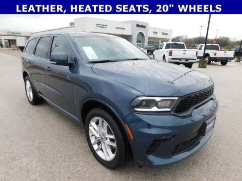 2021 Dodge Durango for sale at Stanley Chrysler Dodge Jeep Ram Gatesville in Gatesville TX