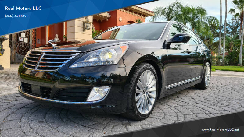 2016 Hyundai Equus for sale at Real Motors LLC in Clearwater FL