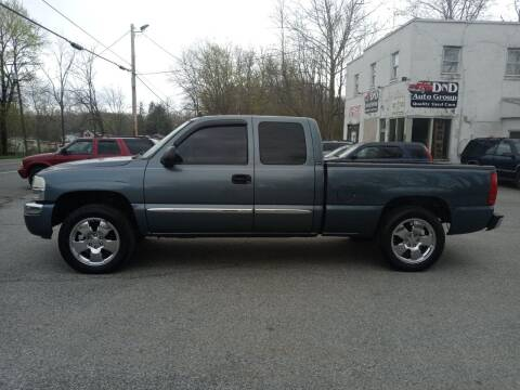 2006 GMC Sierra 1500 for sale at DND AUTO GROUP in Belvidere NJ