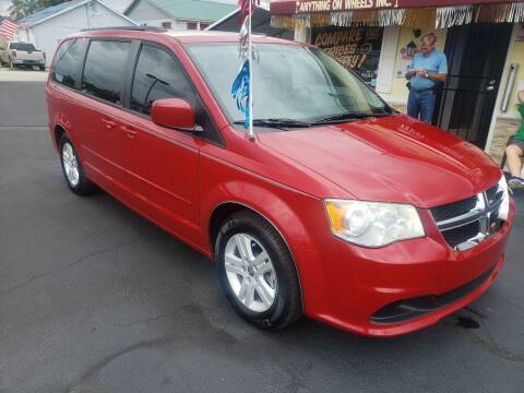 2012 Dodge Grand Caravan for sale at ANYTHING ON WHEELS INC in Deland FL