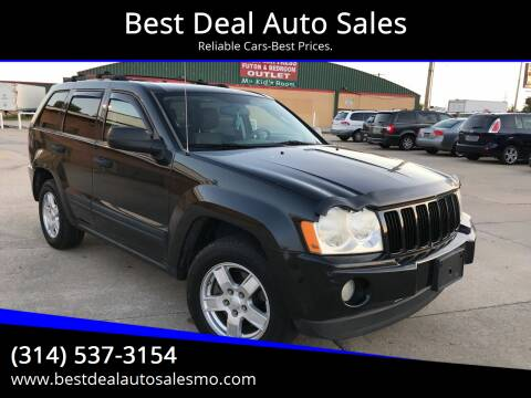 2005 Jeep Grand Cherokee for sale at Best Deal Auto Sales in Saint Charles MO