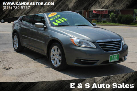 2013 Chrysler 200 for sale at E & S Auto Sales in Crest Hill IL