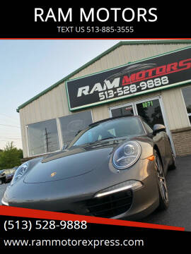2016 Porsche 911 for sale at RAM MOTORS in Cincinnati OH