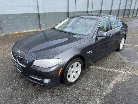 2012 BMW 5 Series for sale at APX Auto Brokers in Lynnwood WA