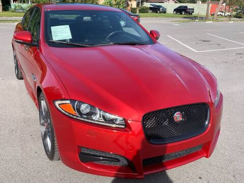 2015 Jaguar XF for sale at Consumer Auto Credit in Tampa FL
