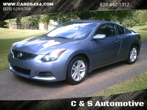 2010 Nissan Altima for sale at C & S Automotive in Nebo NC