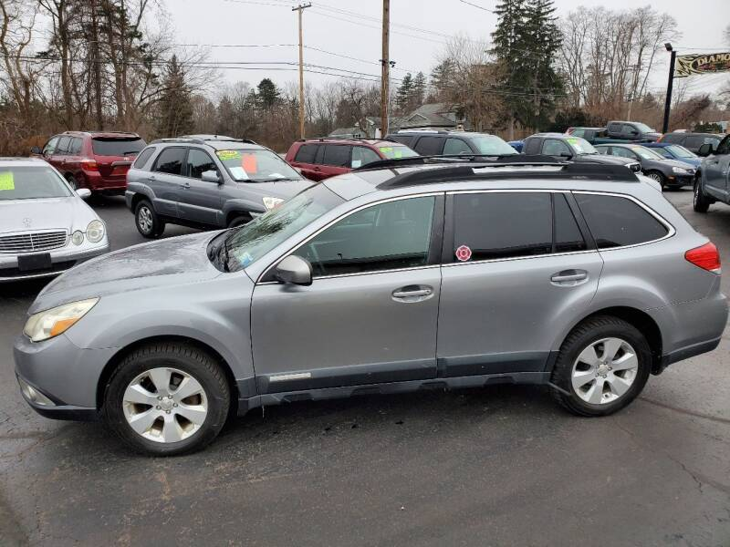2011 Subaru Outback for sale at Auto Link Inc in Spencerport NY