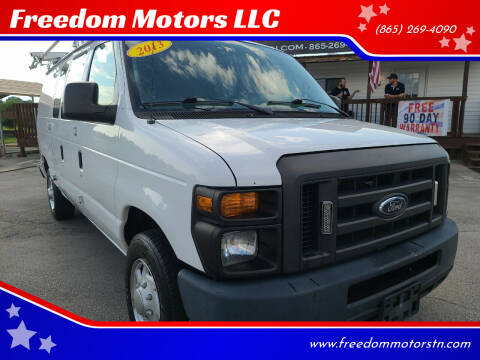 2013 Ford E-Series Cargo for sale at Freedom Motors LLC in Knoxville TN