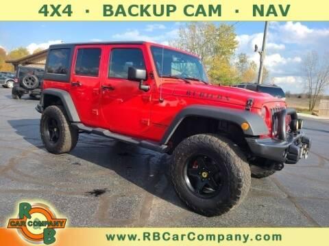 2016 Jeep Wrangler Unlimited for sale at R & B Car Co in Warsaw IN
