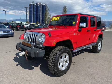 2014 Jeep Wrangler Unlimited for sale at Snyder Motors Inc in Bozeman MT