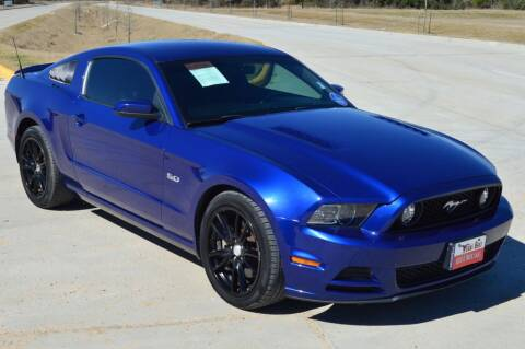 2014 Ford Mustang for sale at Fincher's Texas Best Auto & Truck Sales in Tomball TX
