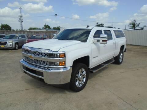 2019 Chevrolet Silverado 2500HD for sale at BAS MOTORS in Houston TX