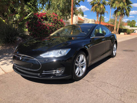 2013 Tesla Model S for sale at Arizona Hybrid Cars in Scottsdale AZ
