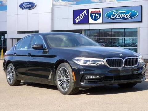 2017 BMW 5 Series for sale at Szott Ford in Holly MI