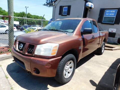 2004 Nissan Titan for sale at WOOD MOTOR COMPANY in Madison TN