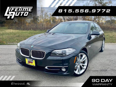 2014 BMW 5 Series for sale at Lifetime Auto in Elwood IL